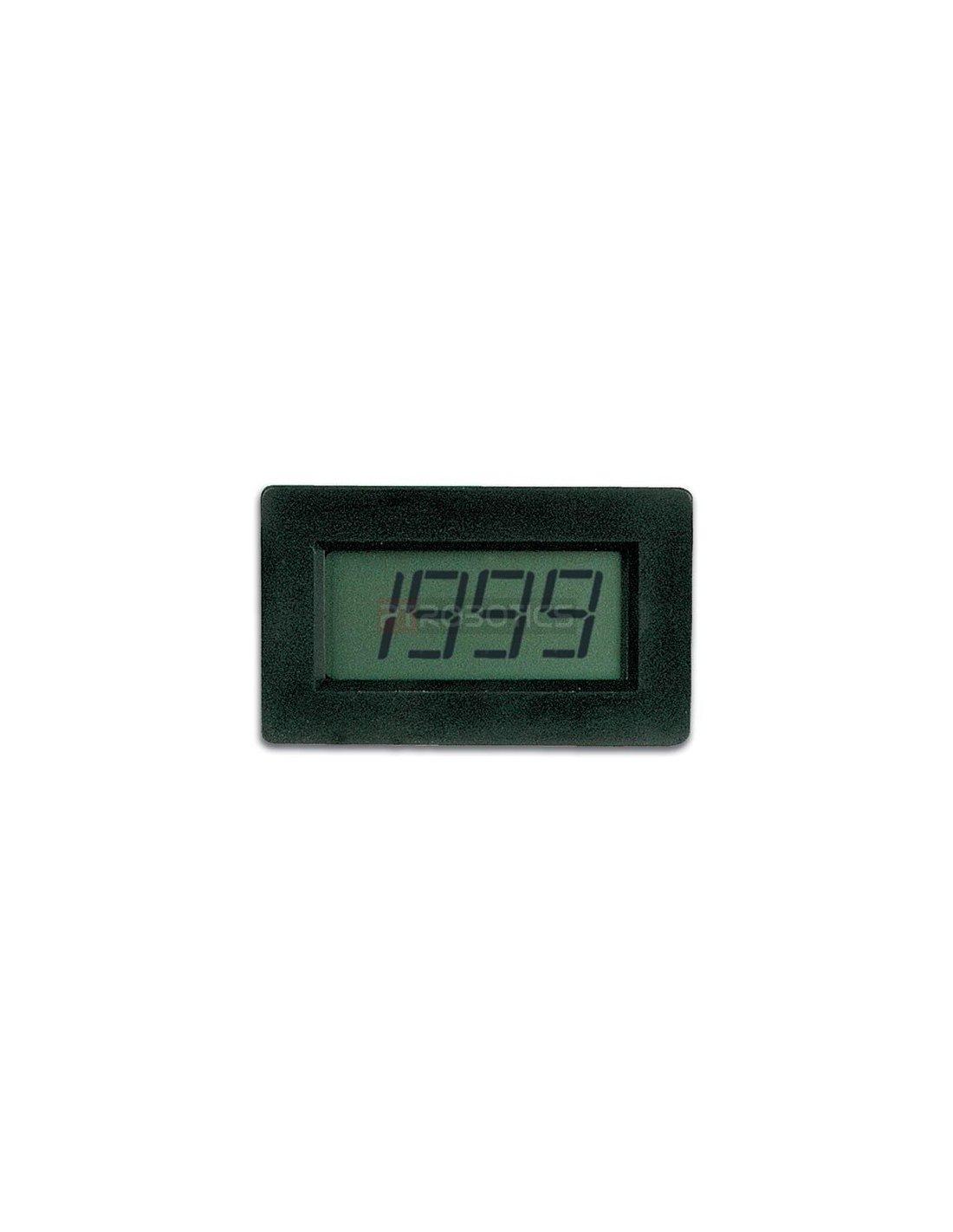 Lcd Panel Meter : Digital panel meter lcd velleman pmlcdl