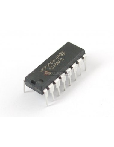 MCP3008 - 8-Channel 10-Bit ADC With SPI Interface
