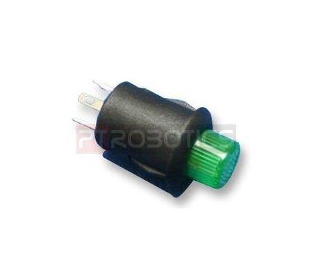 Push Button SPST Verde with Light | Push Button |