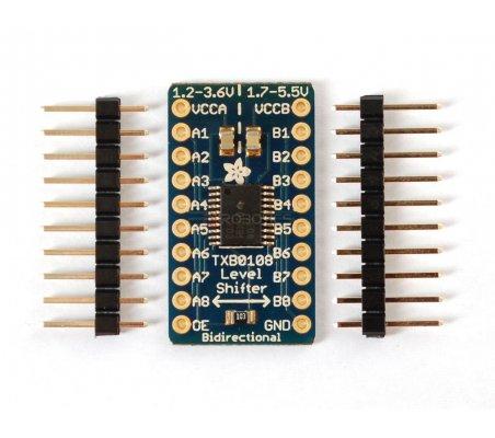 8-channel Bi-directional Logic Level Converter - TXB0108 | Conversores |