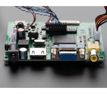 "HDMI/VGA/NTSC/PAL Display - 10.1"" Diagonal - 1280x800 IPS"
