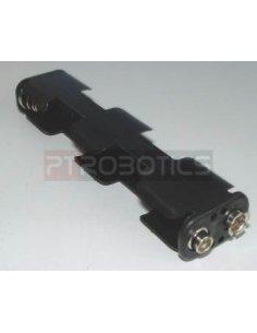 Suporte 4xAA Conector PP3