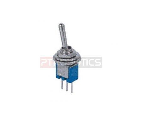 Miniature Toggle Switch PCB SPDT - 250V 1.5A