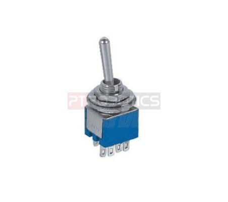 Miniature Toggle Switch DPDT - 250V 1.5A | Toggle Switch |