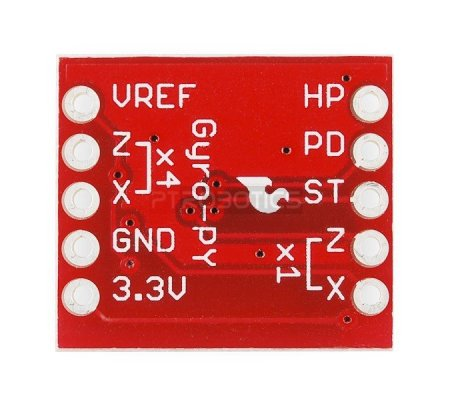 Gyro Breakout Board - LPY503AL Dual 30°/s | Giroscópio |