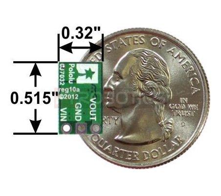 Pololu 9V Step-Up Voltage Regulator | Regulador de Voltagem U3V12F9 | Alimentação |