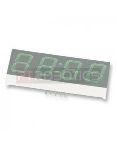 "HDSP-B03E - 4-Digit 7-Segment Display 0.56"" - Red"