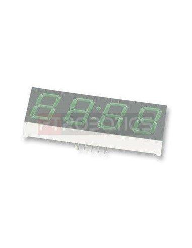 HDSP-B10G - 4-Digit 7-Segment Display 0.56 - Verde | Display 7 segmentos |
