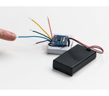 Standalone 5-Pad Capacitive Touch Sensor Breakout - AT42QT1070 | Botões e Teclados |
