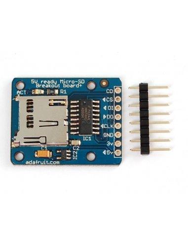 MicroSD card breakout | Varios |
