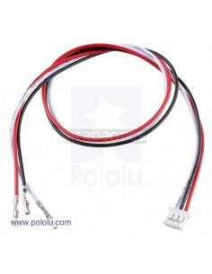 "3-Pin Female JST PH-Style Cable 30cm with Female Pins for 0.1"" Housings"
