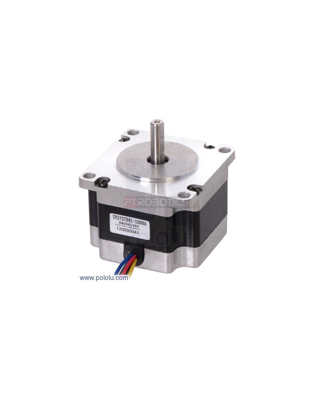 Stepper motor unipolar bipolar 200steps 5 7v 1a 55oz in for Unipolar and bipolar stepper motor
