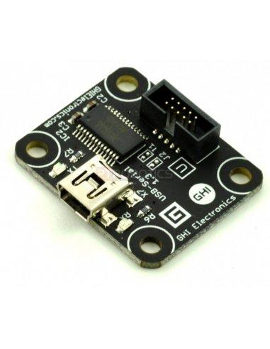 Serial-USB module for .NET Gadgeteer - GM-287