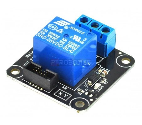 Relay X1 Module - .Net Gadgeteer GM-464   GHI FEZ Gadgeteering .Net  