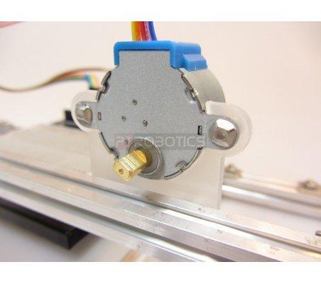 Makerbeam Stepper bracket flat   Hub's e Suportes  