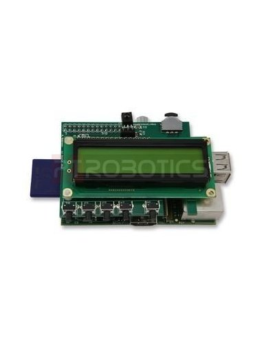 PiFace - Control and Display | HAT | Placas de Expansão Raspberry Pi |
