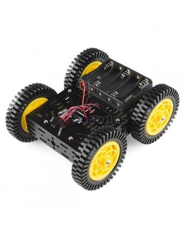 Multi-Chassis - 4WD Kit ATV | Chassi de Robo |