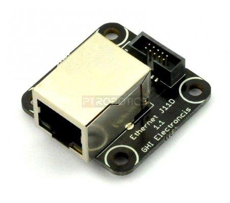 Ethernet J11D Module - .Net Gadgeteer GM-284 | GHI FEZ Gadgeteering .Net |