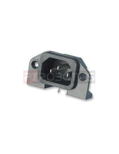 IEC Male Power Socket 250V 10A PCB | IEC |