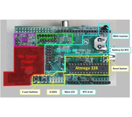 Gertduino - Placa Arduino para Raspberry Pi