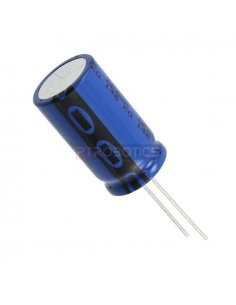 Condensador Electrolitico 470uF 25V 105ºC