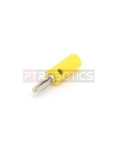 4mm Test Plug Amarelo | Teste e Medida |