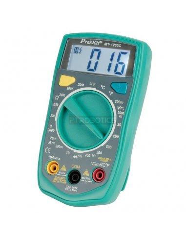 Proskit MT-1233C 3-1/2 Digital Multimeter | Multimetros |