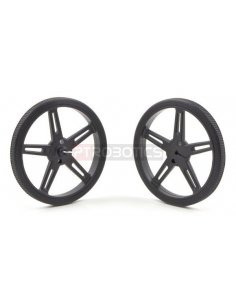 Pololu Wheel 70x8mm Pair - Black