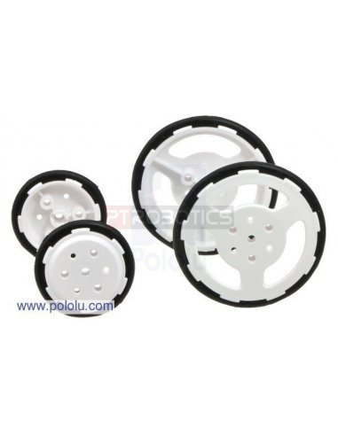 Tamiya 70193 Slim Tire Set - 4 tires