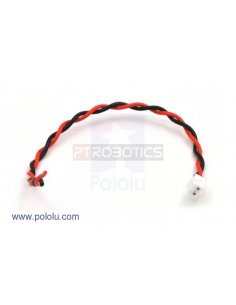 2-Pin Female JST PH-Style Cable - 14cm