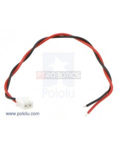 2-Pin Female JST XH-Style Cable - 15cm