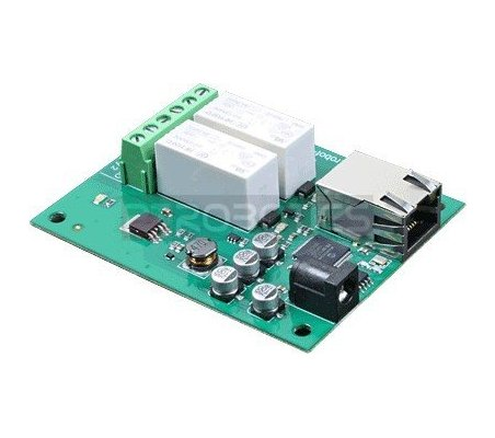 ETH002 - 16Amp 2 Channel Relay Module