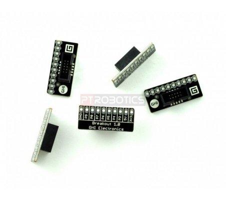 5x Breakout Module Set - .Net Gadgeteer GM-405 | GHI FEZ Gadgeteering .Net |