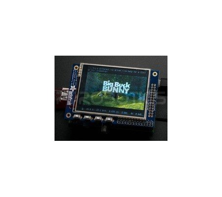 "PiTFT Mini Kit - 320x240 2.8"" TFT+Touchscreen for Raspberry Pi"