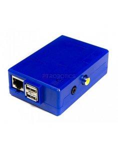Caixa Raspberry PI Electric Blue