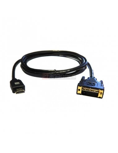 HDMI to DVI-D Cable 2mt | Cabo coaxial | Cabo av |