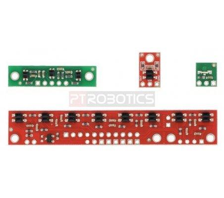 QTR-3A Reflectance Sensor Array   Sensores Ópticos  
