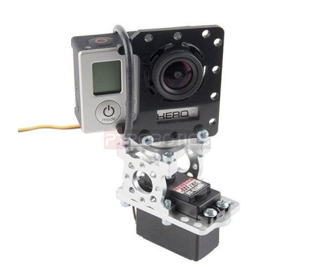 GoPro Hero 2 Camera Mount | Pan Tilt |