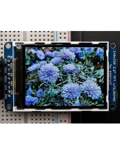 """2.2"""" 18-bit color TFT LCD display with microSD card breakout - ILI9340"""