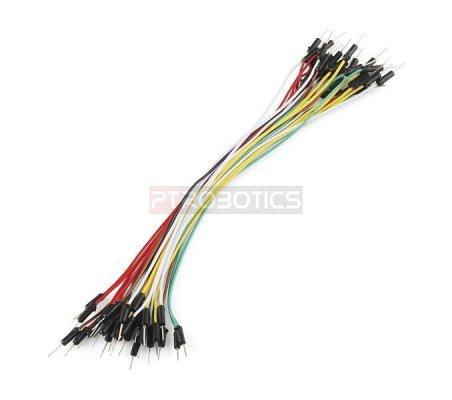 Jumper Wires Standard 24cm M/M Pack of 10 Random Color | Jumper Wires |