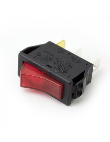 Switch SPDT 250V 15A with light