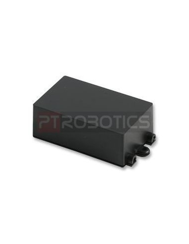 Flanged Black ABS Enclosure 72x44x27mm