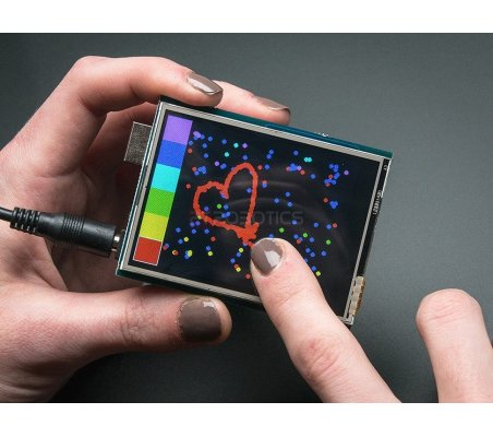 2.8 TFT Touch Shield for Arduino v2 | Display Arduino |