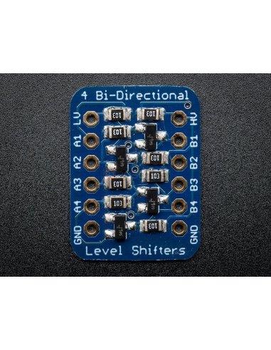 4-channel I2C-safe Bi-directional Logic Level Converter (BSS138)