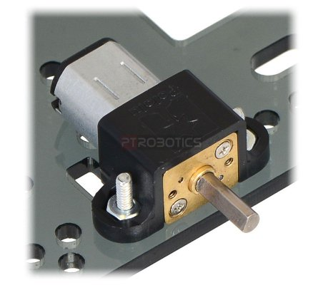 30:1 Micro Metal Gearmotor HP with Extended Motor Shaft | Motor DC com Engrenagens |