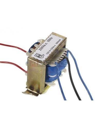 transformador 230V 7.2VA 2x12V   Transformadores  
