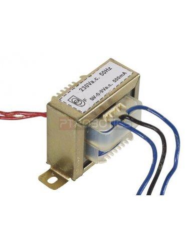 transformador 230V 9VA 2x9V | Transformadores |