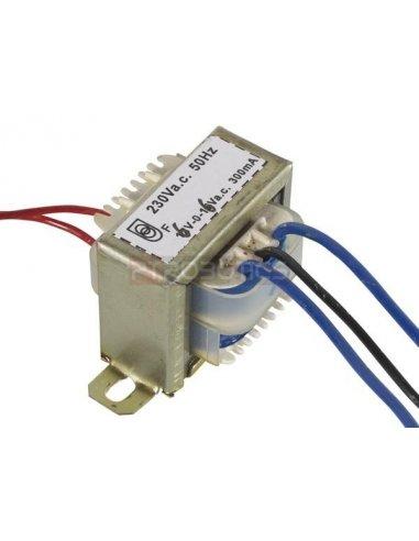 transformador 230V 3.6VA 2x6V | Transformadores |