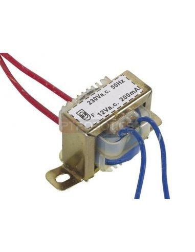 transformador 230V 2.4VA 1x12V