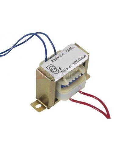 transformador 230V 10.8VA 1x9V | Transformadores |